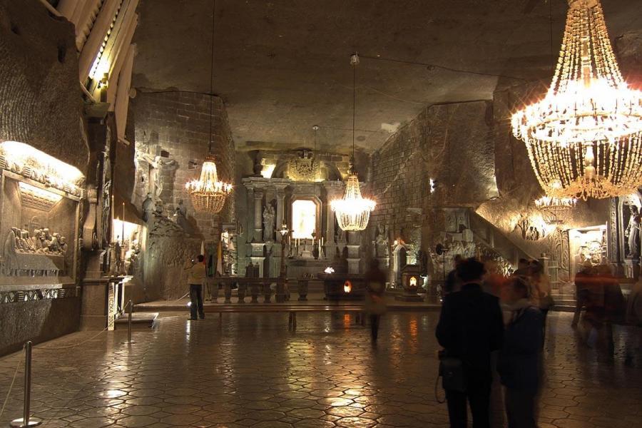 christmas destinations for solo travellers krakow poland salt mine