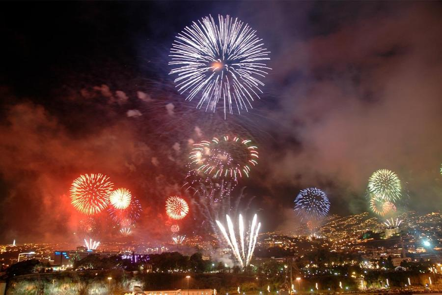 christmas destinations for solo travellers madeira new year firework display