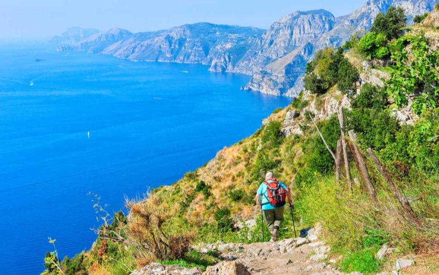 visit amalfi coast path of the gods