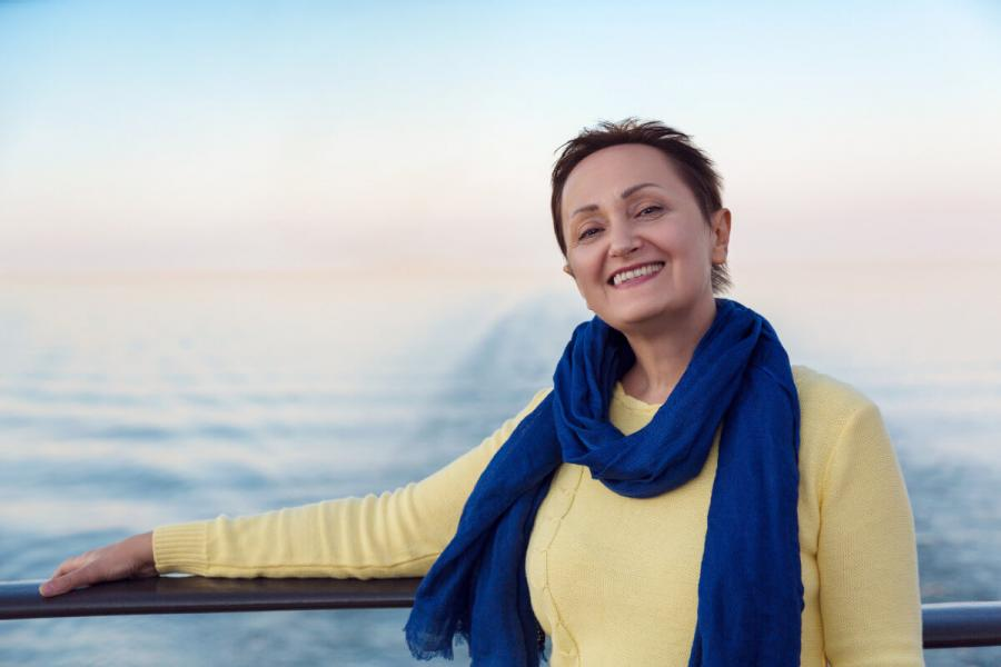 what to wear on a cruise scarf for a breeze on a deck