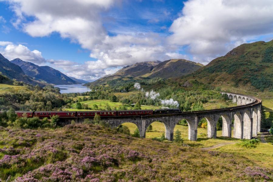 Glenfinnan Railway Viaduct in Scotland