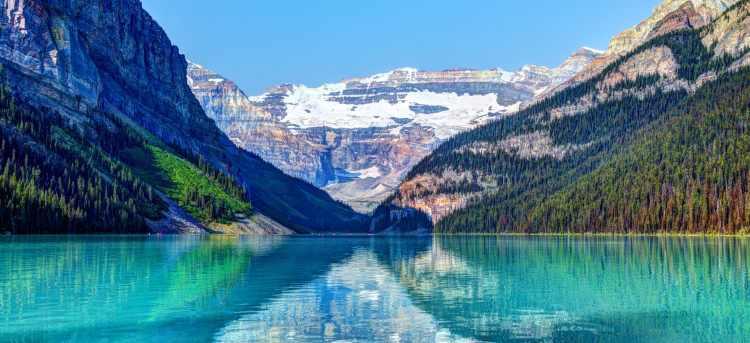 Lake Louise in Banff, Canada