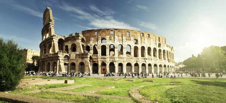 Explore historic Rome on a guided tour, seeing the Colosseum