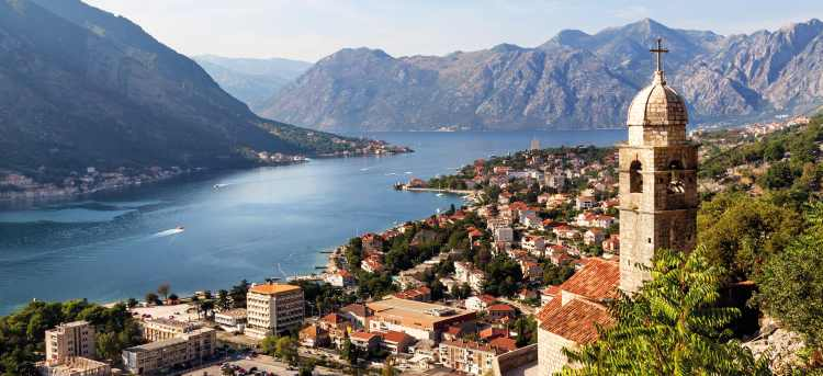 Bay of Kotor | Boka | Adriatic sea | Montenegro | Riviera Travel | escorted tour