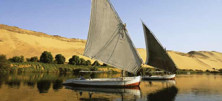 boats on the nile | nile | egypt | riviera travel | cruise