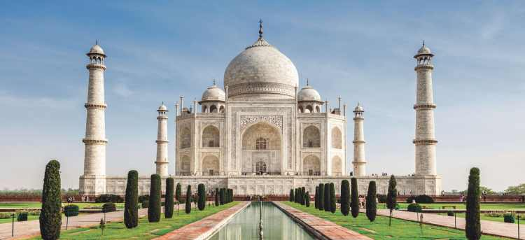 See the breathtaking Taj Mahal on our escorted tour