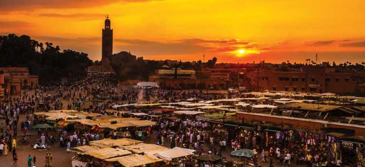 Medina | markets | Marrakesh | Morocco | Riviera Travel | escorted tour