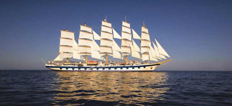 Experience our mediterranean curise on the Royal Clipper