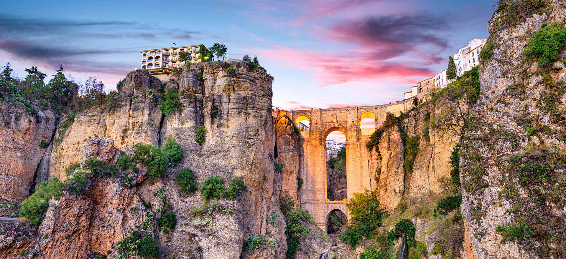 Ronda, as seen in Classical Spain tour