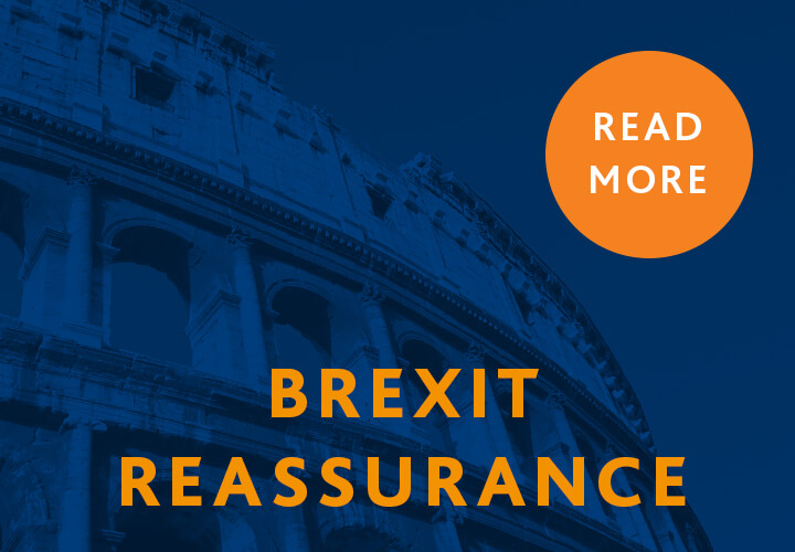 Read Our Brexit Reassurance Here