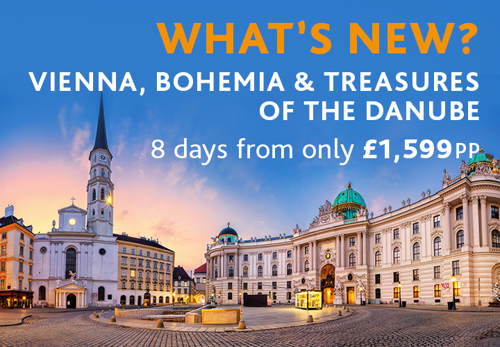 What's New? Vienna, Bohemia & Trasures of the Danube River Cruise
