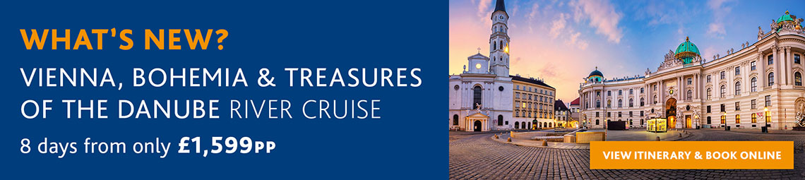 What's New? Vienna, Bohemia & Treasures of the Danube River Cruise