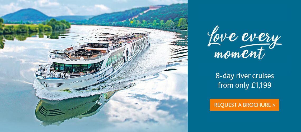 Love every moment with 8-day river cruises from only £1199