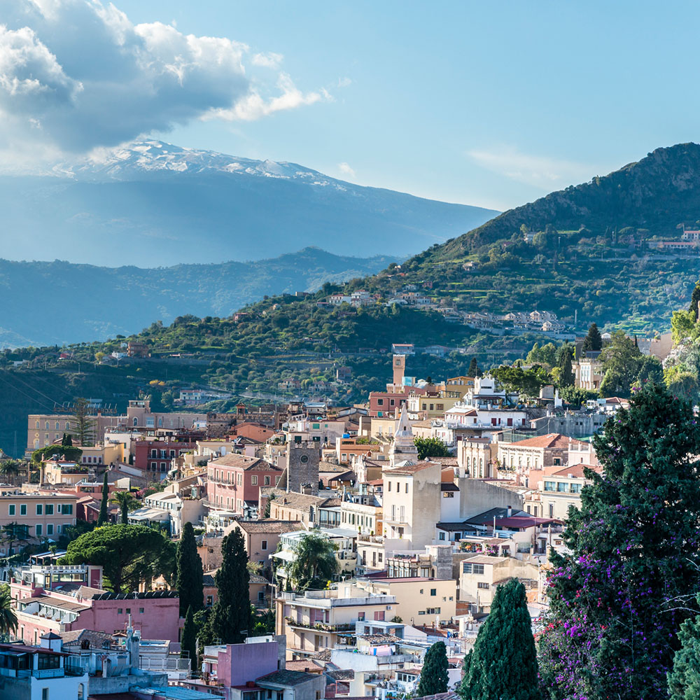 TAORMINA & MOUNT ETNA WITH WINE TASTING