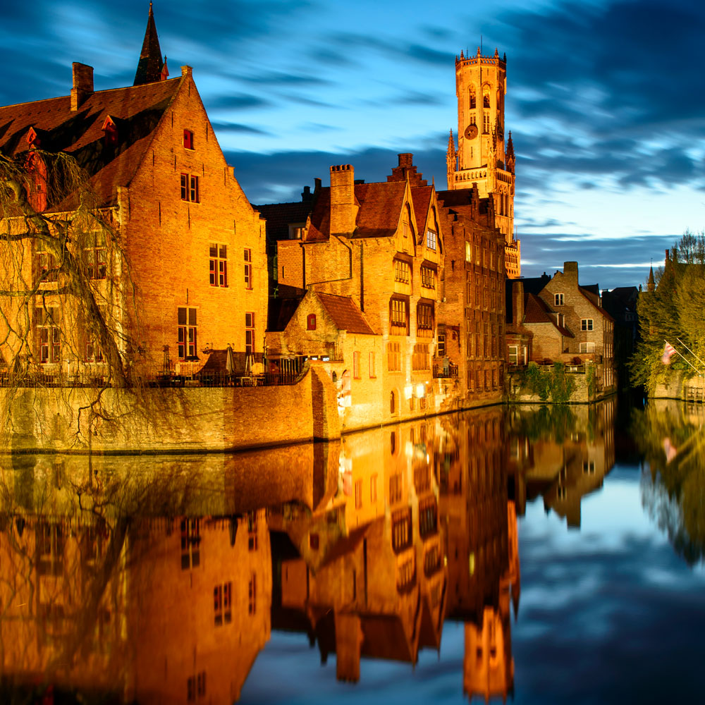 The atmospheric canals of Bruges