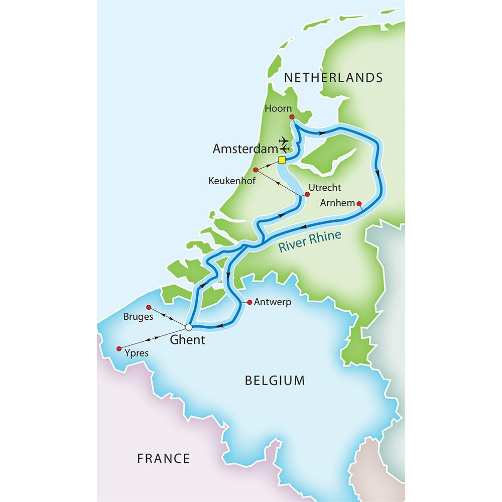 Bruges France Map.Bruges Medieval Flanders Amsterdam The Dutch Bulbfields River
