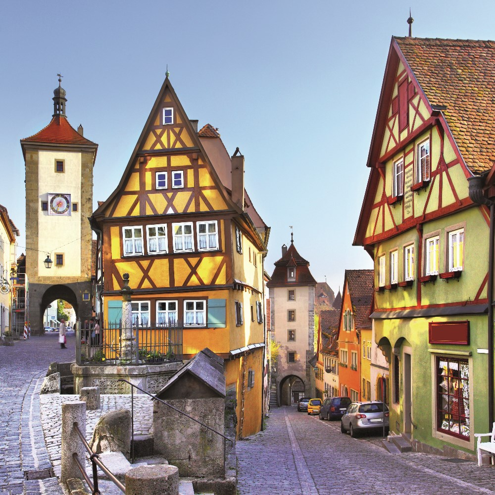 ROTHENBURG & OCHSENFURT