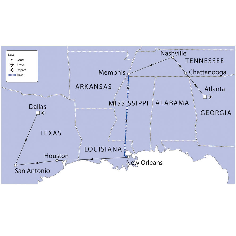 Deep South Usa Plus Texas Riviera Travel