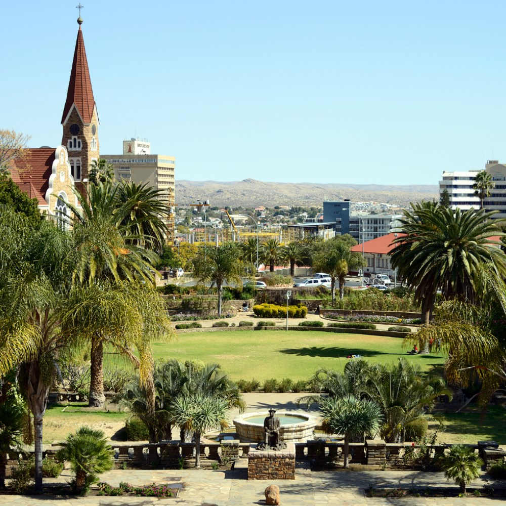 ARRIVAL IN WINDHOEK
