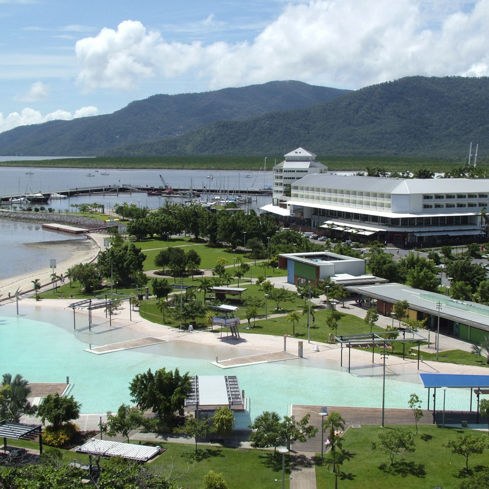 ARRIVAL IN CAIRNS