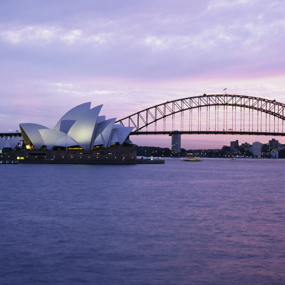 Harbour Bridge and Opera House, Sydney