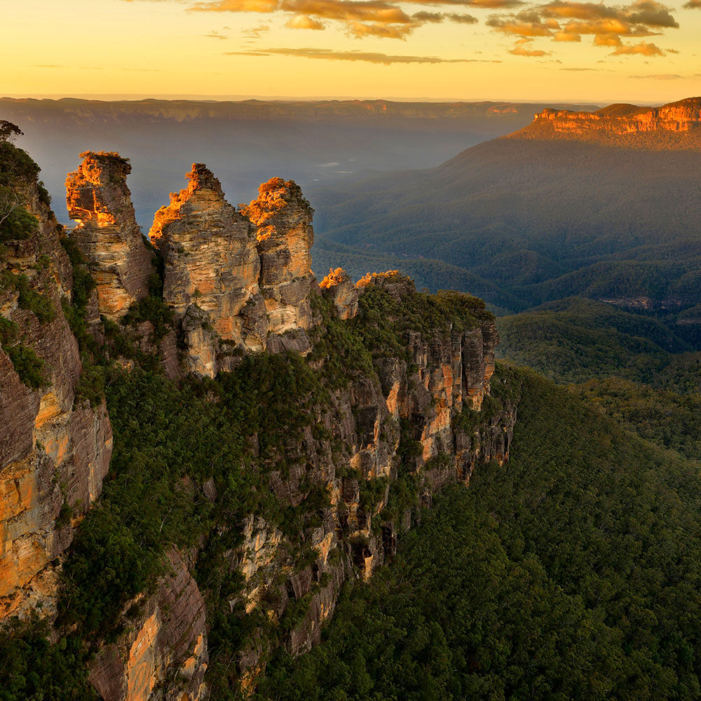 Three Sisters rock, Blue Mountains
