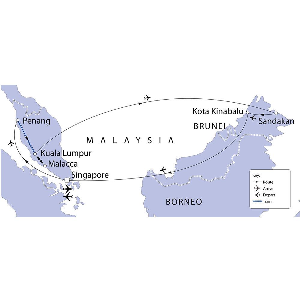 Malaysia, Borneo & Singapore | Riviera Travel