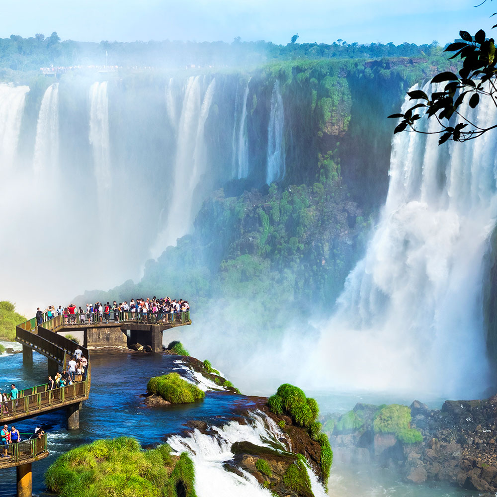 FLY TO IGUAZU FALLS